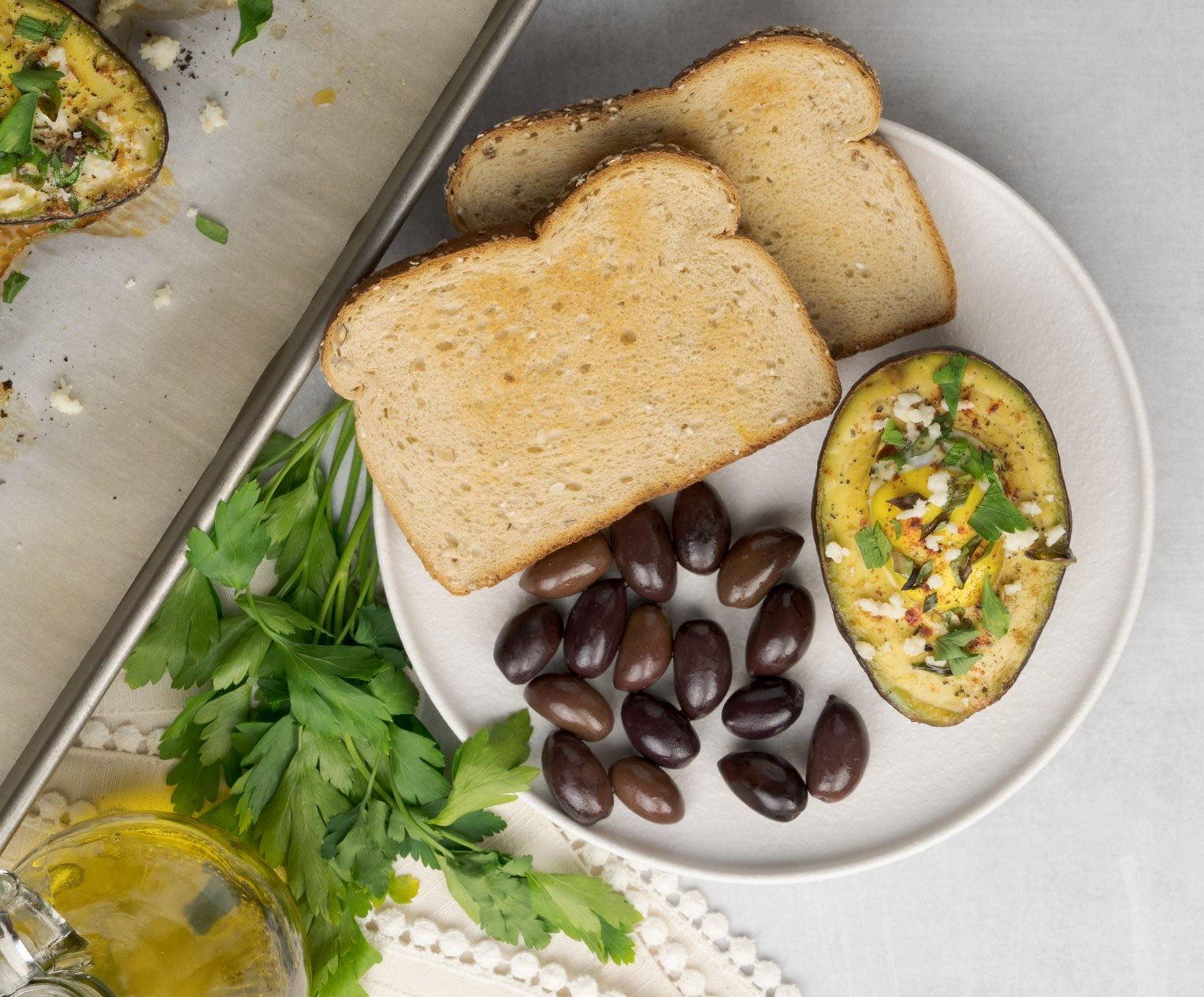 Baked Avocado Eggs Recipe