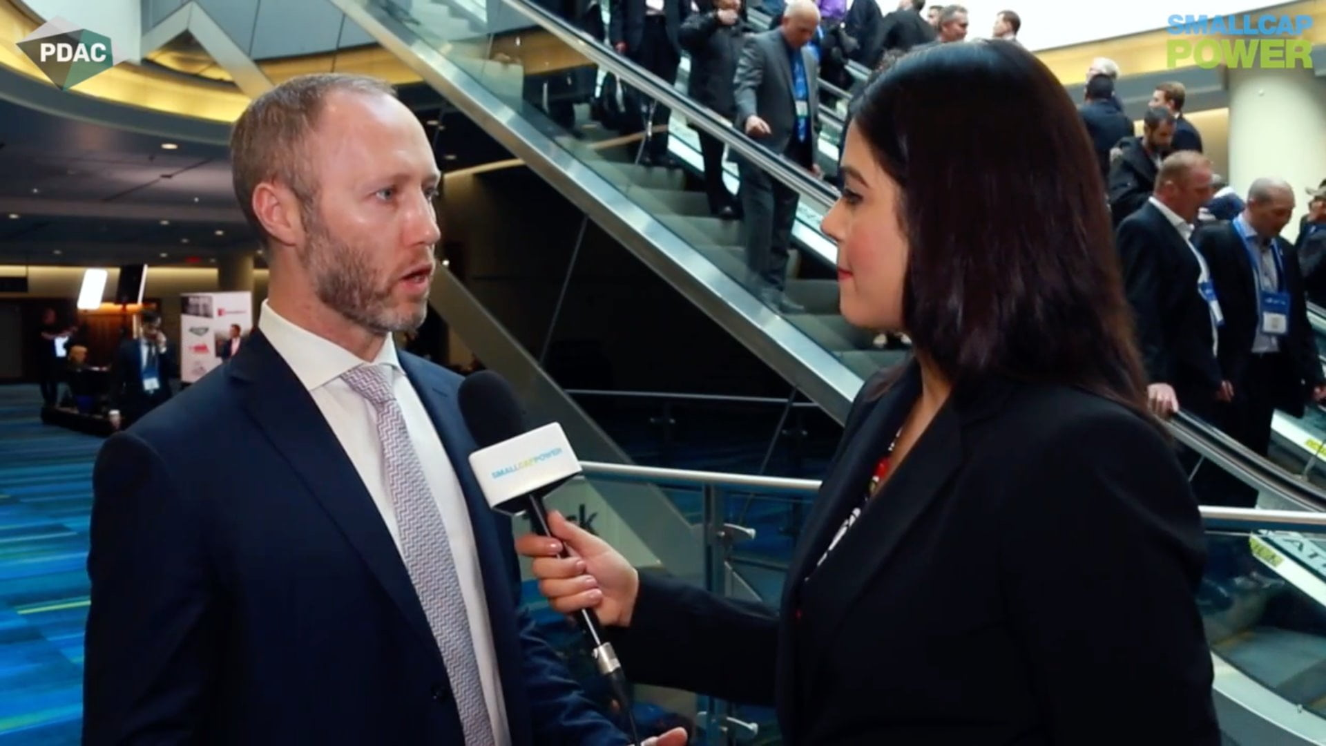 SmallCap Power at PDAC Interview